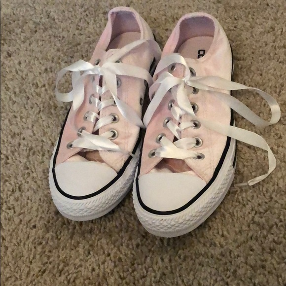 silk laces for converse